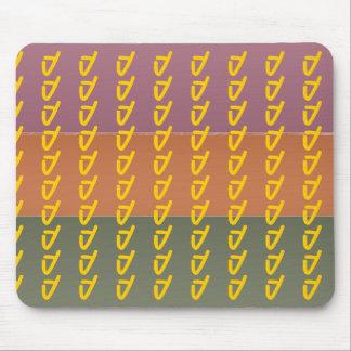 Listra da cor do revestimento de três metais - mouse pad