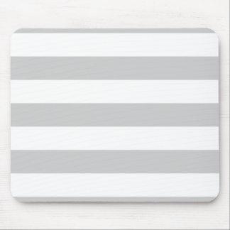 Listra larga cinzenta Mousepad