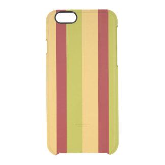 Listra rara da especiaria do defletor capa para iPhone 6/6S clear