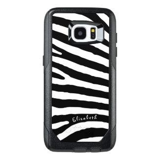 Listras do teste padrão da zebra, as pretas & as
