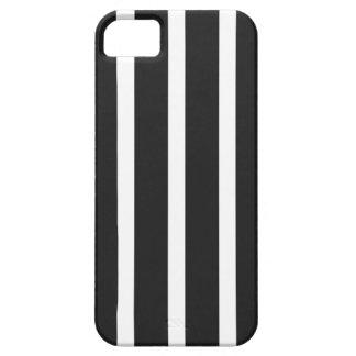 Listras PRETAS retros Capa Para iPhone 5