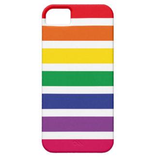 Listras retros do ARCO-ÍRIS Capa Para iPhone 5