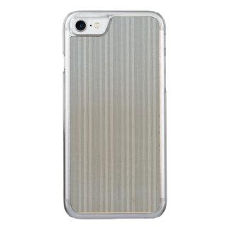 Listras verticais dos azuis bebés Pastel Capa iPhone 7 Carved