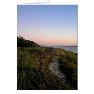 Litoral de Ocracoke Cartão De Nota