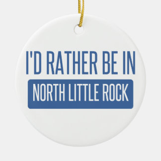 Little Rock norte Ornamento De Cerâmica