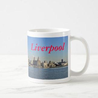 Liverpool - skyline caneca de café