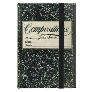Livro afligido composição do vintage capas iPad mini