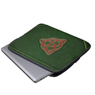 Livro da bolsa de laptop do cobrir das sombras sleeve para laptop