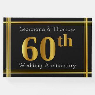 Livro de hóspedes do aniversário de casamento do