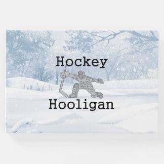Livro De Visitas Hooligan SUPERIOR do hóquei