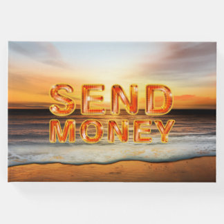 Livro De Visitas O T envia o dinheiro
