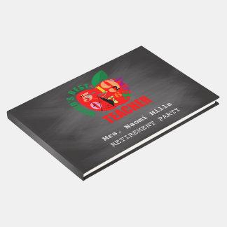 Livro De Visitas Quadro Apple do partido de aposentadoria | do