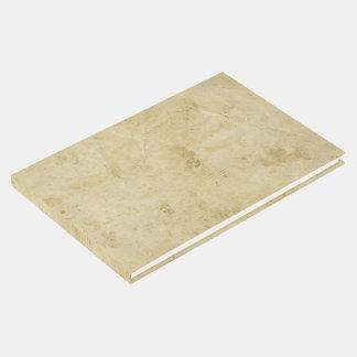 Livro De Visitas Vazio antigo pergaminho manchado antiquado
