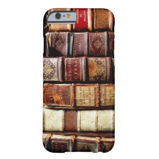 Livros obrigatórios de couro do design do século capa barely there para iPhone 6