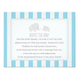 Livros para o bebê - cartão de jogo do chá de convite 10.79 x 13.97cm