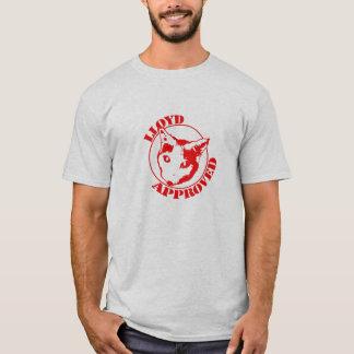 Lloyd aprovou - os homens cinzentos tshirt