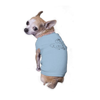 Lobo pequeno camiseta