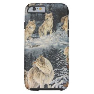 Lobos do inverno capa para iPhone 6 tough