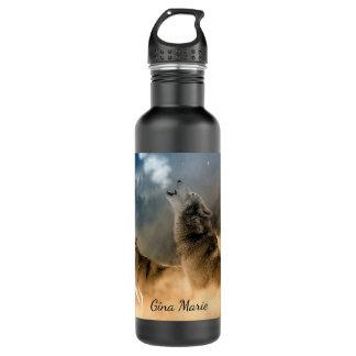 Lobos do urro garrafa d'água