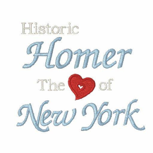 Local-Coração histórico do preto bordado NY da cam Camisas Polo Bordadas