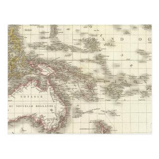 L'Oceanie - Oceania Cartão Postal