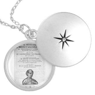 Locket de Machiavelli Colar Medalhão