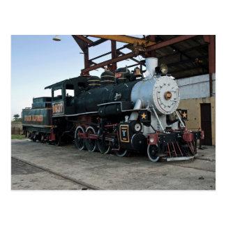 Locomotiva de vapor, Cuba Cartão Postal