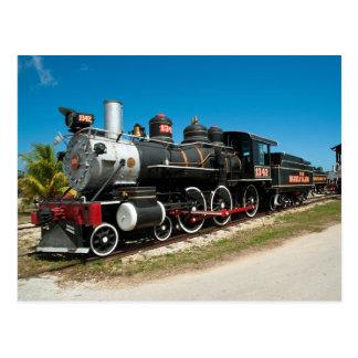 Locomotiva de vapor de Baldwin Cartão Postal