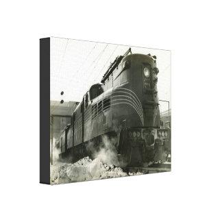 Locomotiva GG-1 #4800 da estrada de ferro de