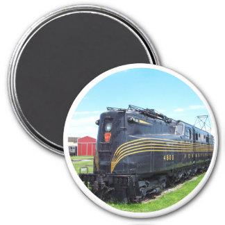 Locomotiva GG-1 #4800 da estrada de ferro de Ímã Redondo 7.62cm
