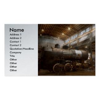 Locomotiva - oficina de reparações locomotiva modelos cartões de visita