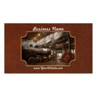 Locomotiva - oficina de reparações locomotiva cartões de visita