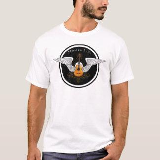 Logotipo acústico do LA de Musica T-shirts