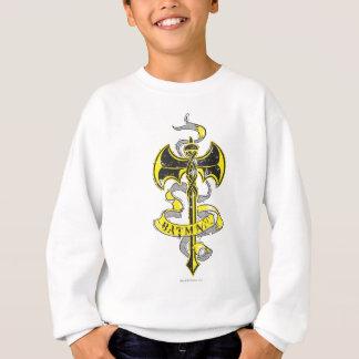 Logotipo amarelo urbano da espada de Batman | Tshirt