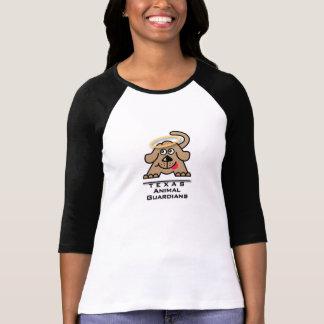 Logotipo animal do t-shirt dos guardiães de Texas