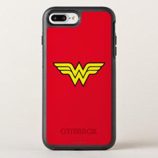 Logotipo clássico da mulher maravilha | capa para iPhone 7 plus OtterBox symmetry