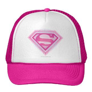 Logotipo cor-de-rosa de Supergirl Boné