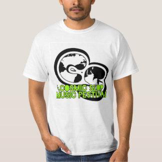 Logotipo cósmico do Fest da música do Slop + T do Camisetas