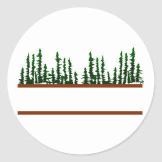 Logotipo da árvore adesivo
