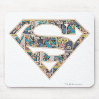Logotipo da banda desenhada de Supergirl Mouse Pad