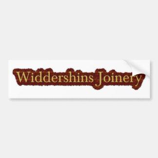 Logotipo da laje de Widdershins Adesivo Para Carro