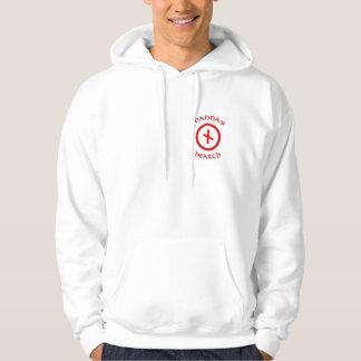 Logotipo da lareira de Nanna - o hoodie dos homens Moletom