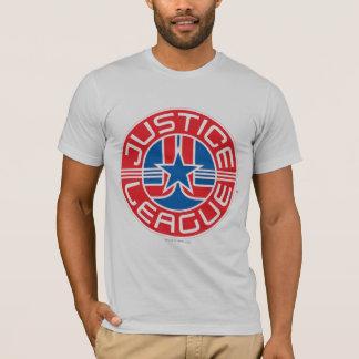 Logotipo da liga de justiça tshirt