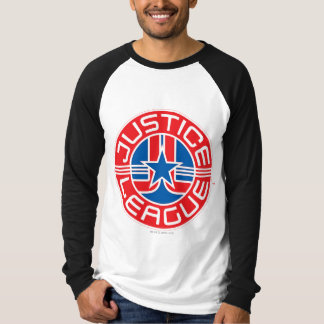 Logotipo da liga de justiça tshirts