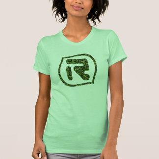 Logotipo da LR olá!! Verde Camisetas