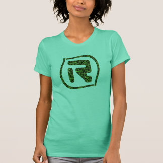Logotipo da LR olá!! Verde Tshirts