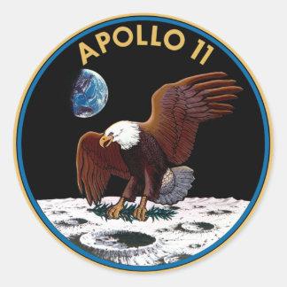 Logotipo da NASA Apollo 11 Adesivo