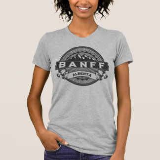 Logotipo das cinzas de Banff Tshirt