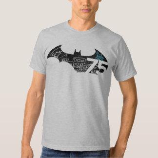 Logotipo de Batman 75 - quadro Tshirts