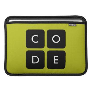 logotipo de Code.org Bolsas De MacBook